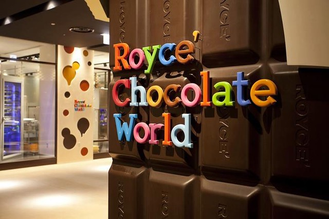 Royce Chocolate World - New Chitose Airport -travel.joogo.sg