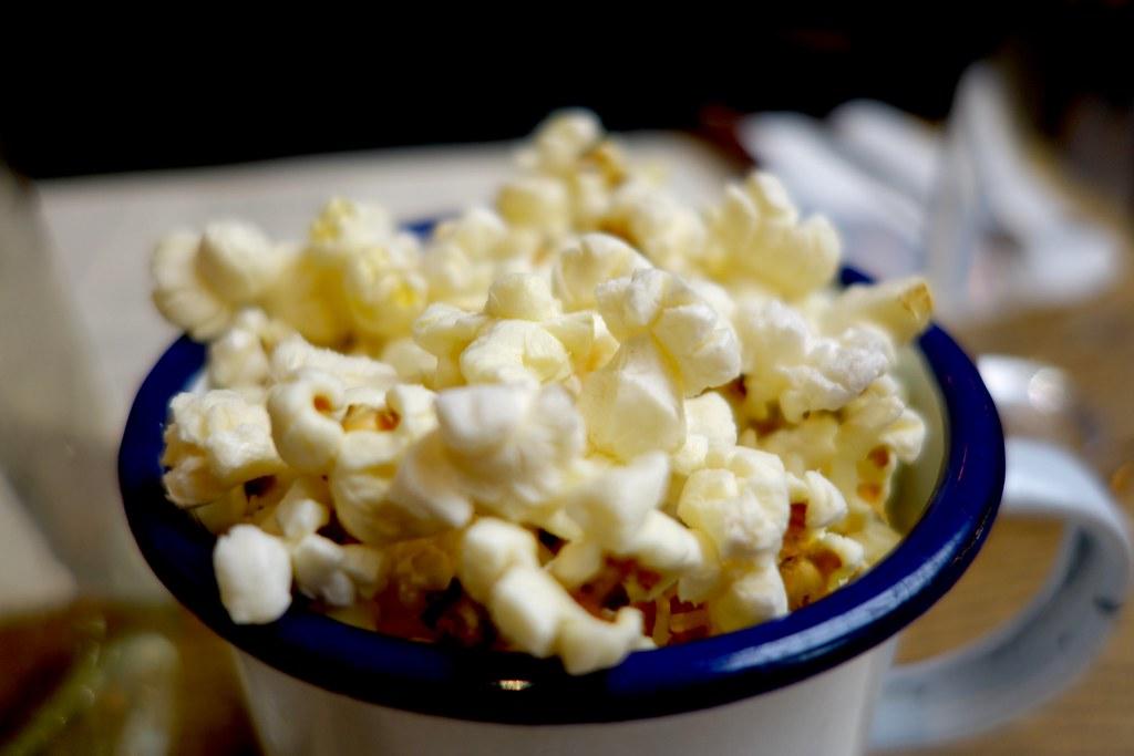 Popcorn, Flat Iron, Henrietta Street