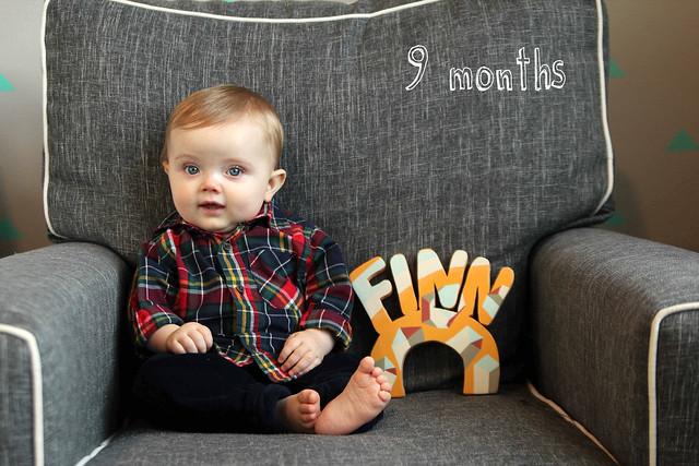 Finn at 9 months