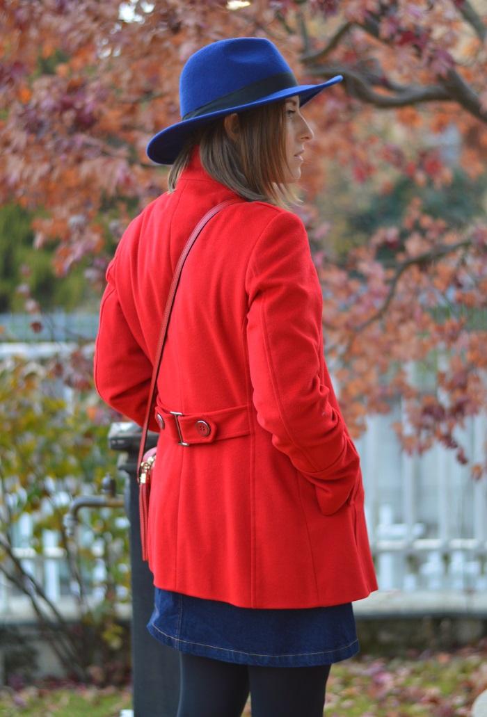 seventies, cappotto rosso, anni 70, HM, wildflower girl (1)