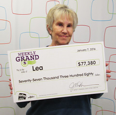Lea from - $77,380.95 Weekly Grand