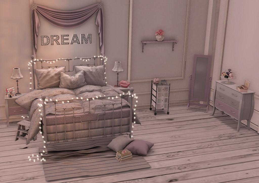 Teen dream girl cave glamour - Bed room for teen ...
