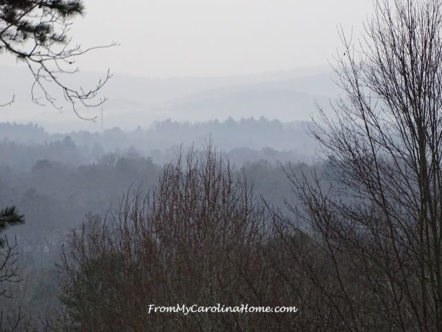 Foggy Mountain Morning | From My Carolina Home