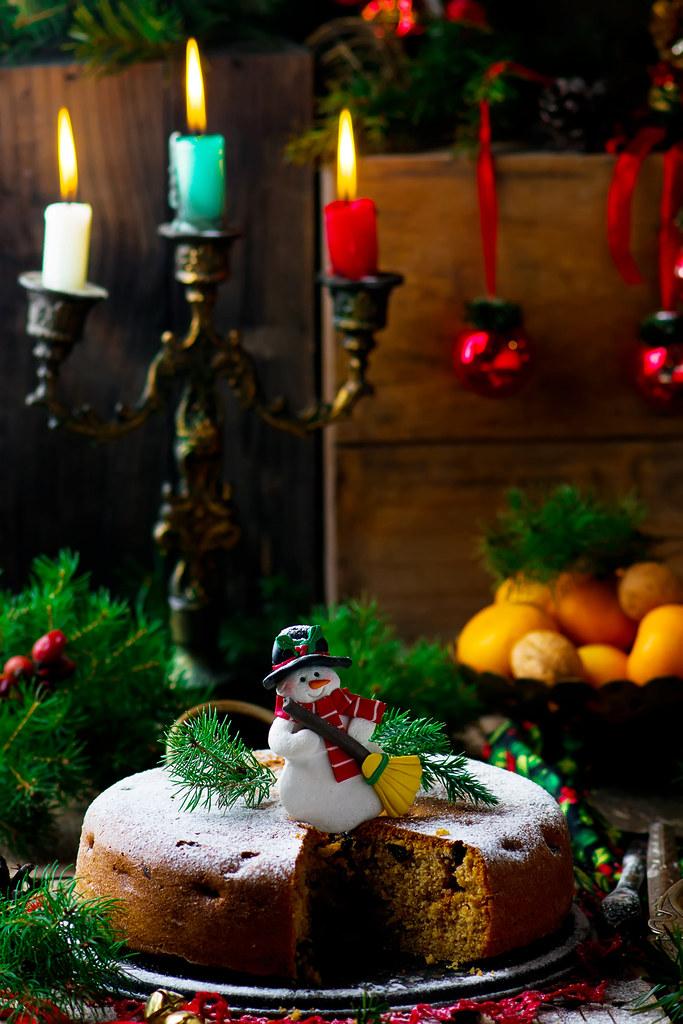 Christmas cake.28