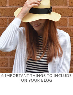Not Dressed As Lamb | 6 Important Things to Include on Your Blog
