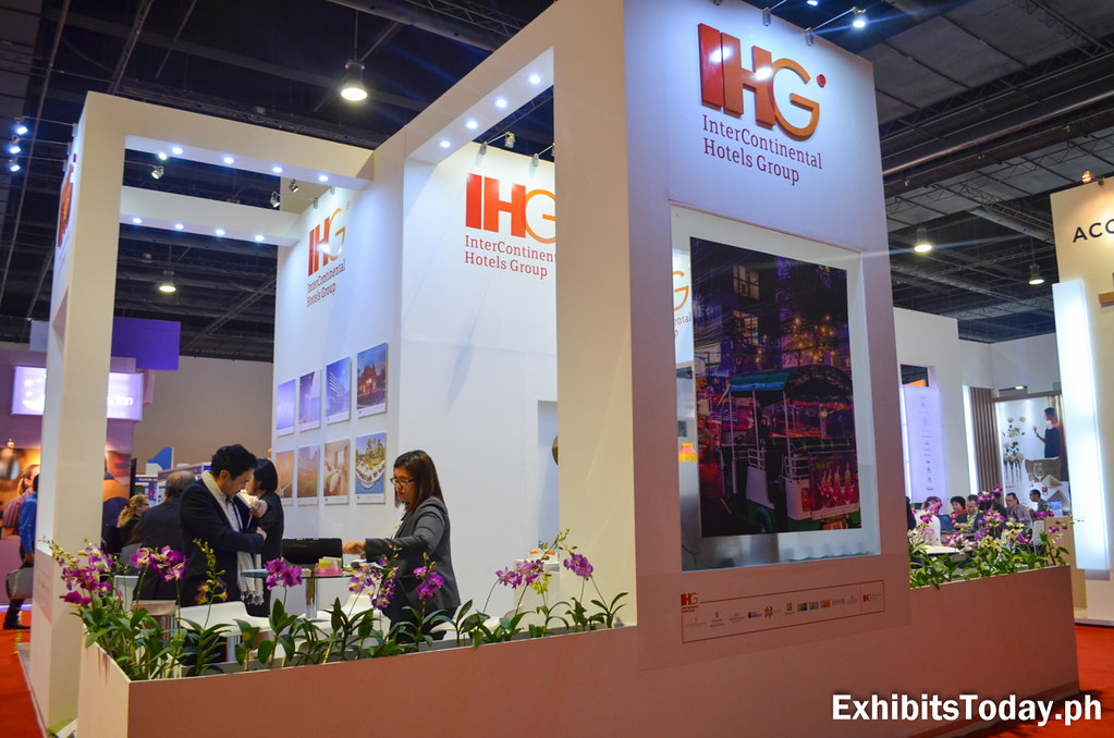 IHG Exhibit Booth