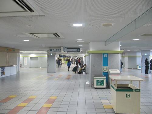 京都競馬場のグランドスワン2階