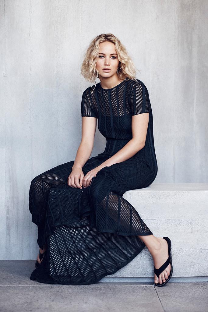 Дженнифер Лоуренс — Фотосессия для «Dior» NG 2015 – 6