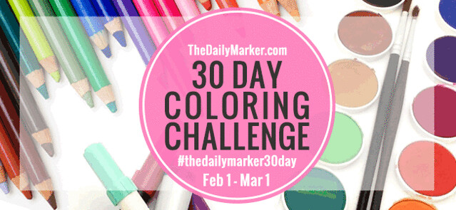 Kathy Racoosin - The Daily Marker - Color Challenge