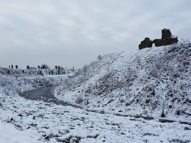 Sandal Castle Sledging - Copy