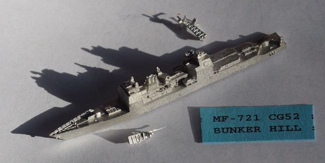 PFC CinC US Bunker Hill Guided Missile Cruiser (CG)