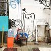 Alley cat #hkwalls