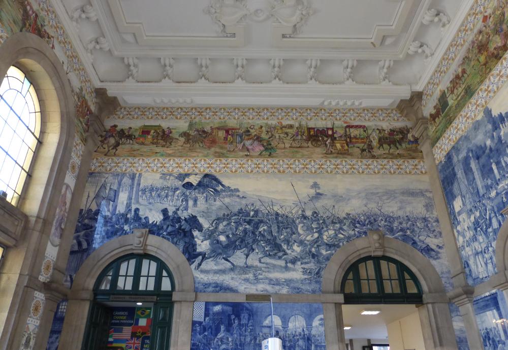 Porto Train Station Tile