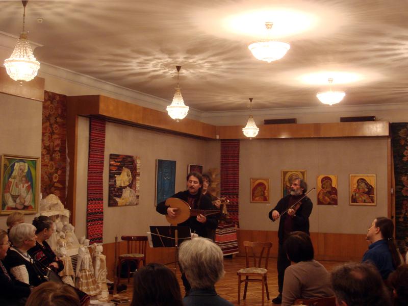 Taras Kompanichenko and Khoreia Kozatska concert kiev