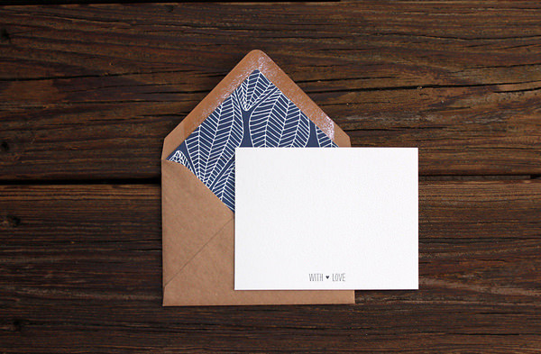 Patterned Envelope Liner by Kimberly Munn