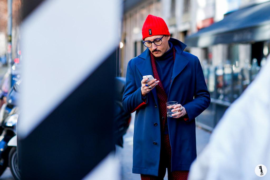 Fabrizio Oriani at Milan Fashion Week Menswear