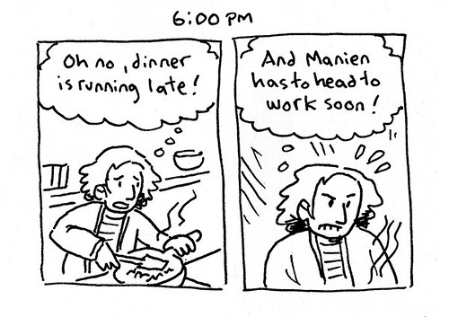 Hourly Comic Day 2016 - 6:00pm