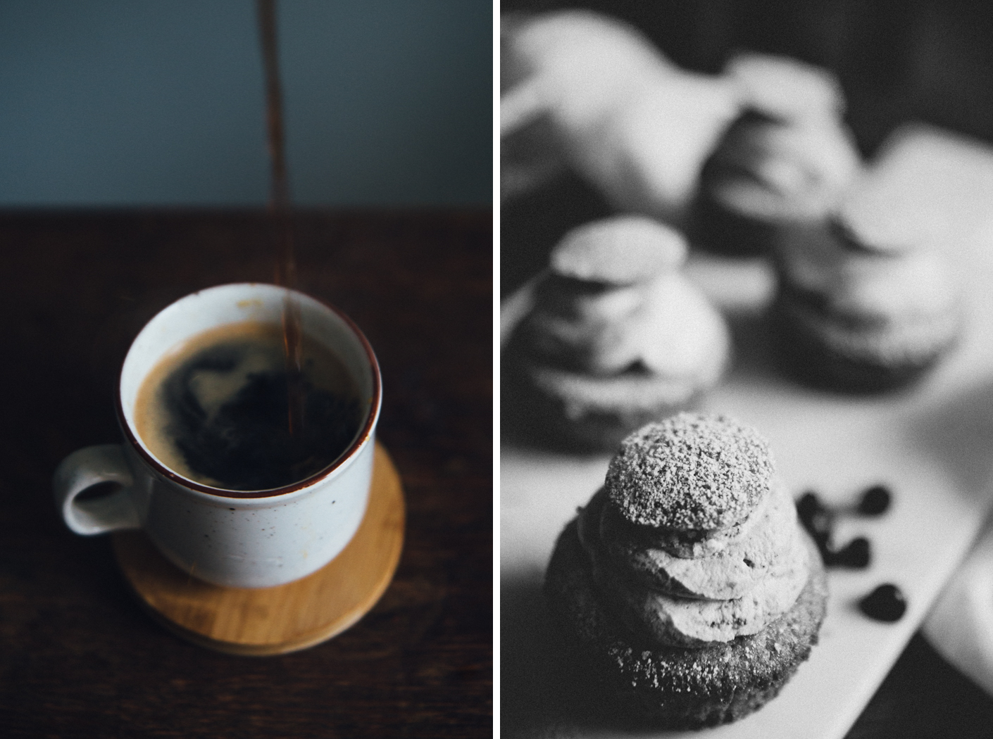 "Swedish Muffin "" Semla"" & Coffee 