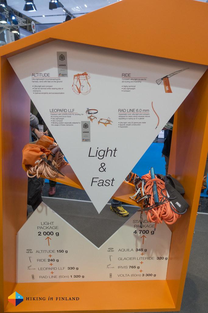 Petzl Fast & Light SkiMo Gear