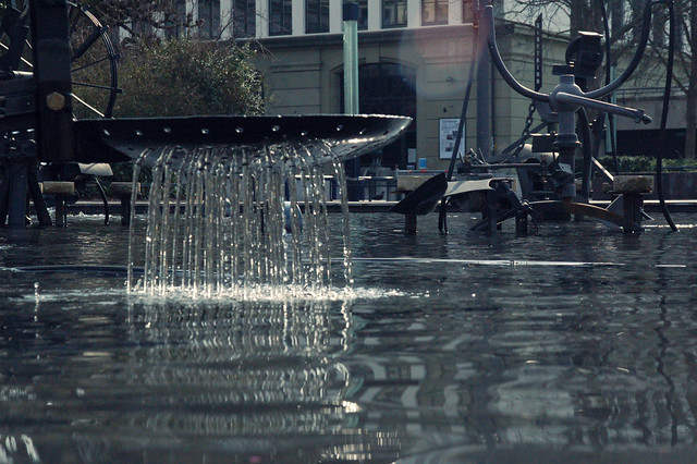 Tinguely-Brunnen, Basel, CH