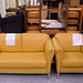 2&1 mustard leather suite