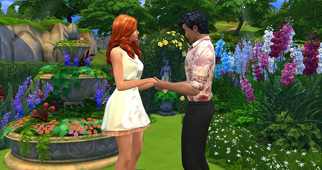 sims 4 romantic garden music genre