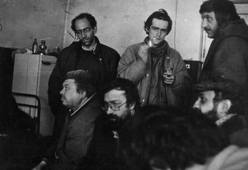 1992 թ., Քոլատակ, պատերազմը լուսաբանող հայ եւ ռուս լրագրողների հետ