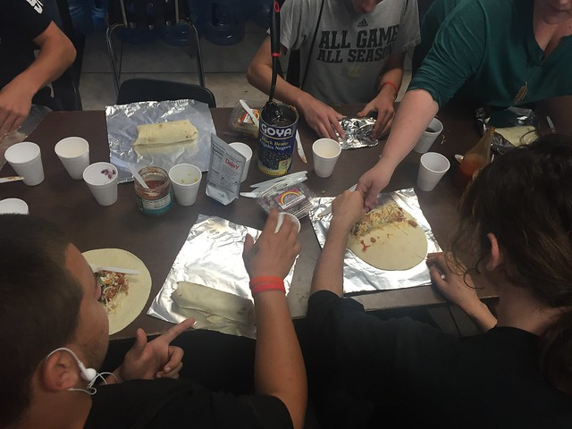 Teens in drug and alcohol rehab cook up delicious burritos thumbnail