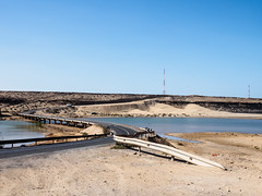 Oued Chebka et lac Leila