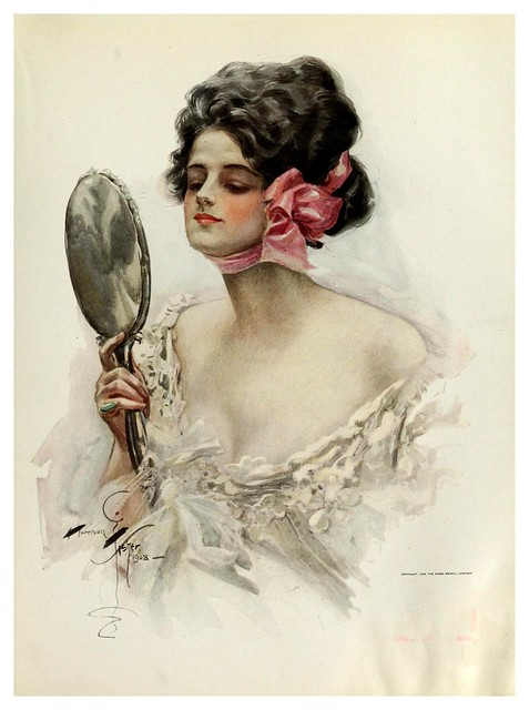 010-American beauties-1909- Harrison Fisher