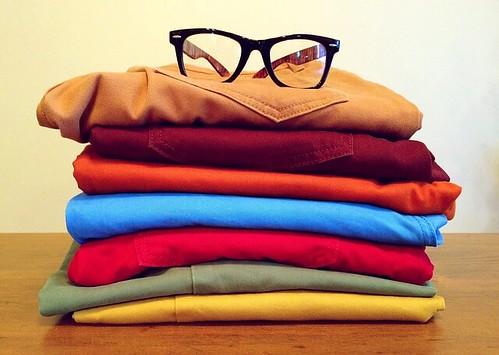 メガネon洗濯物 by pixabay