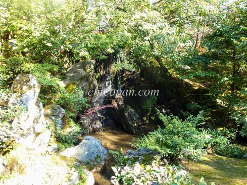 金閣寺滝門滝りゅうもんたき画像