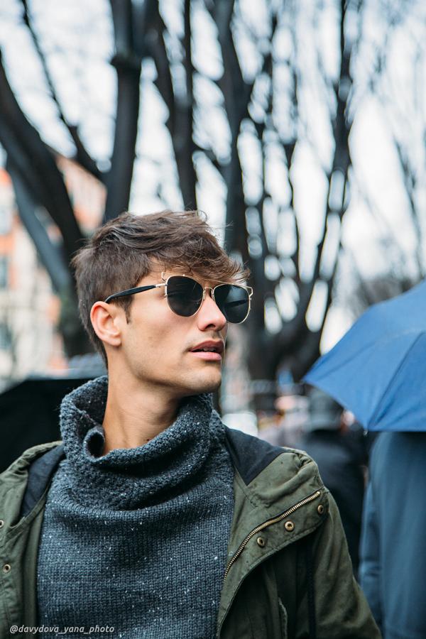 25291628451 7566115eef o - Стритстайл недели моды в Милане: Гости Armani Show в объективе Яны Давыдовой