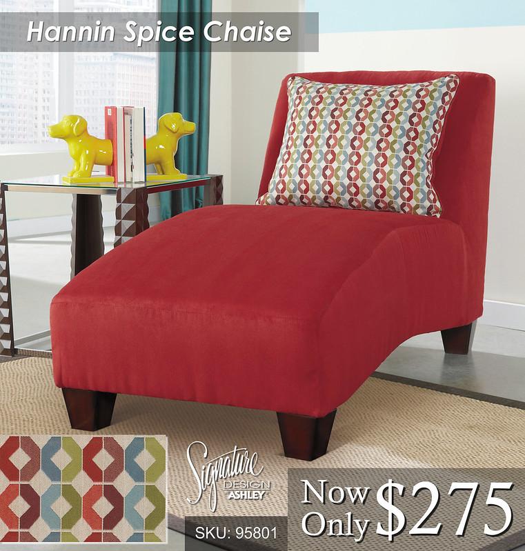 Hanin Spice Chaise