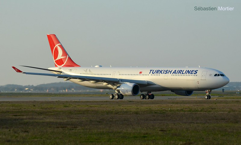 A.330-300 TURKISH AIRLINES F-WWYZ 1713 TO TC-LNF 22 03 16 TLS