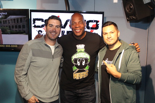 Alonzo Bodden returns to the Covino & Rich Show