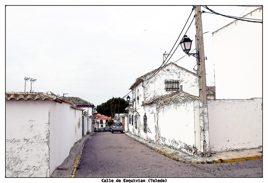 Calle en Esquivias
