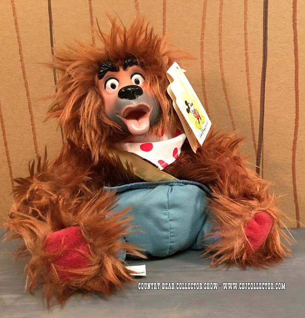 Walt Disney World Liver Lips Bean Bag Doll - Country Bear Collector Show #016
