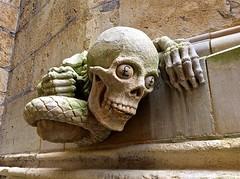 Skulls in churches and church yards