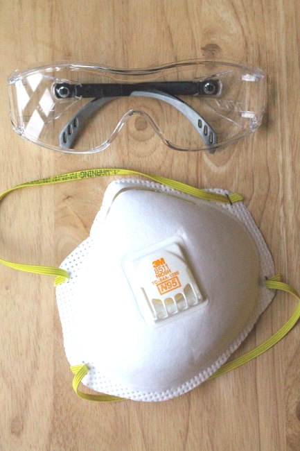 Safety glasses & mask
