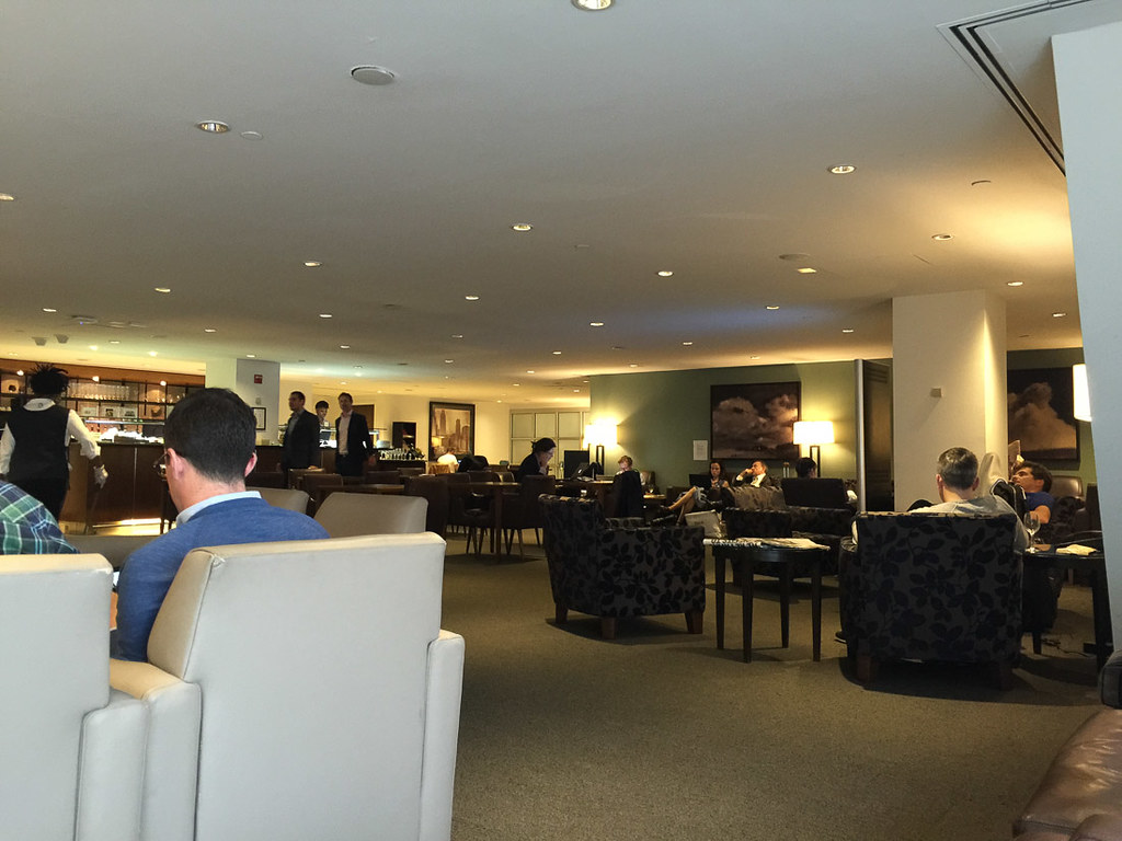 British Airways First Class lounge | Cathay Pacific First Class lounge at JFK