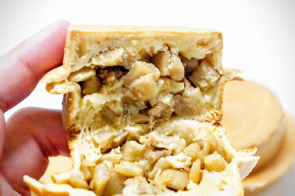 菜脯的就一般,可能我本身不喜歡吃鹹的車輪餅吧