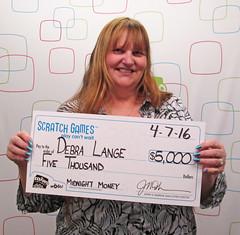 Debra Lange - $5,000 Midnight Money