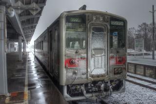 Horonobe Station on APR 09, 2016 (10)