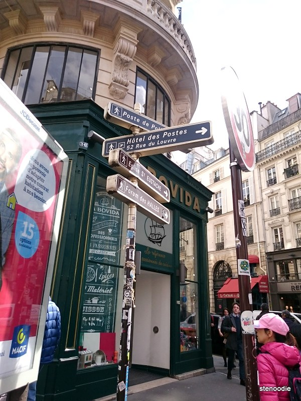 Road signs in Paris