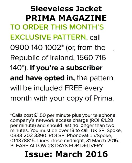 Prima Magazine - Pattern, March 2016 (04)