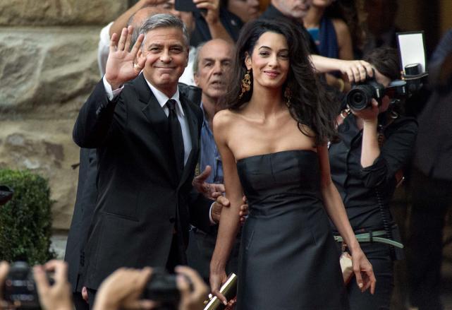 Фото | Джордж Клуни и Амаль Аламуддин