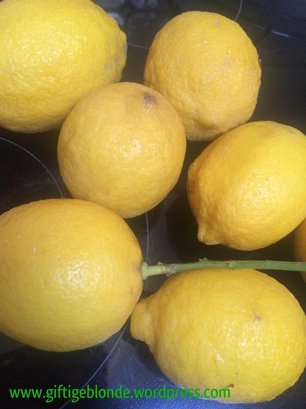 Zitronen vom Markt