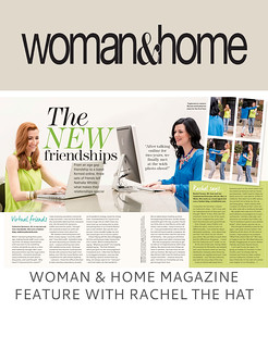Woman & Home Magazine Feature With Rachel the Hat | Not Dressed As Lamb