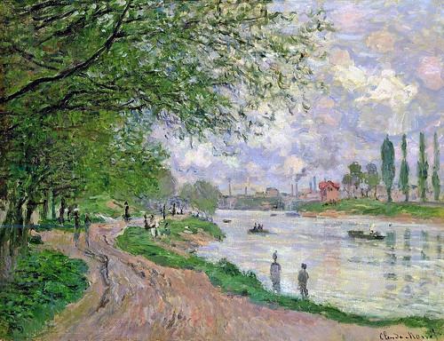 Claude Monet - L'île de la Grande Jatte